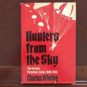 Book: Hunters from the Sky: German Paratroops WWII